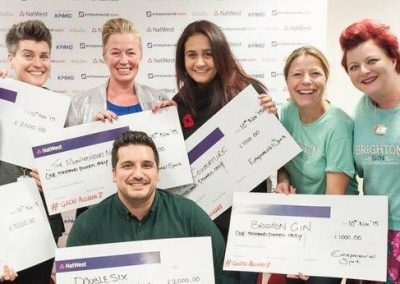 Winners at Natwest Pitching Comp