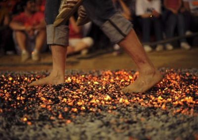 Fearless at Firewalking